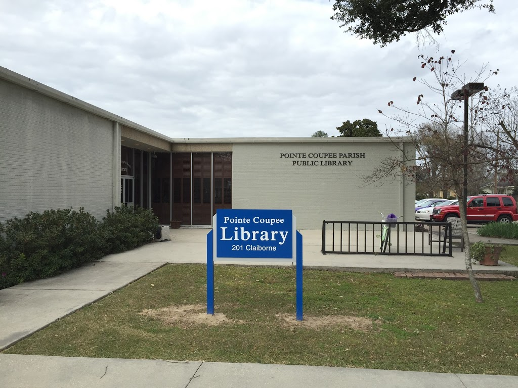 Pointe Coupee Library - library    Photo 4 of 5   Address: 201 Claiborne St, New Roads, LA 70760, USA   Phone: (225) 638-7593