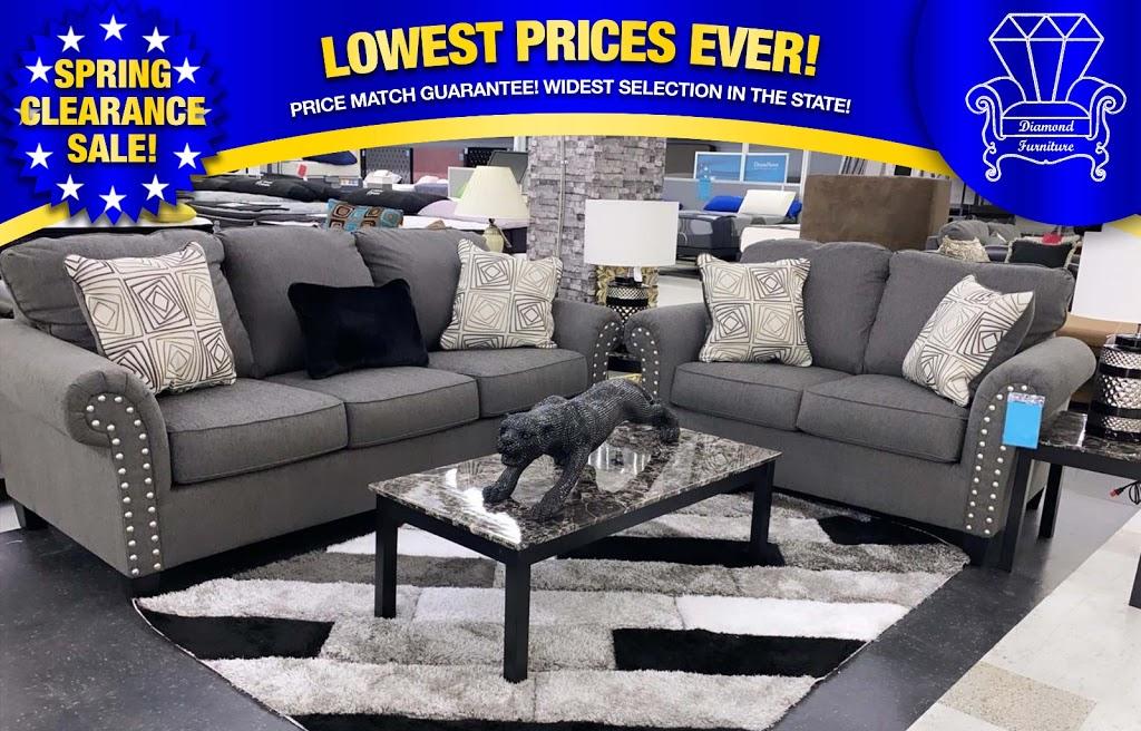 Diamond Furniture - furniture store    Photo 5 of 10   Address: 9096 Parkway E, Birmingham, AL 35206, USA   Phone: (205) 703-8411