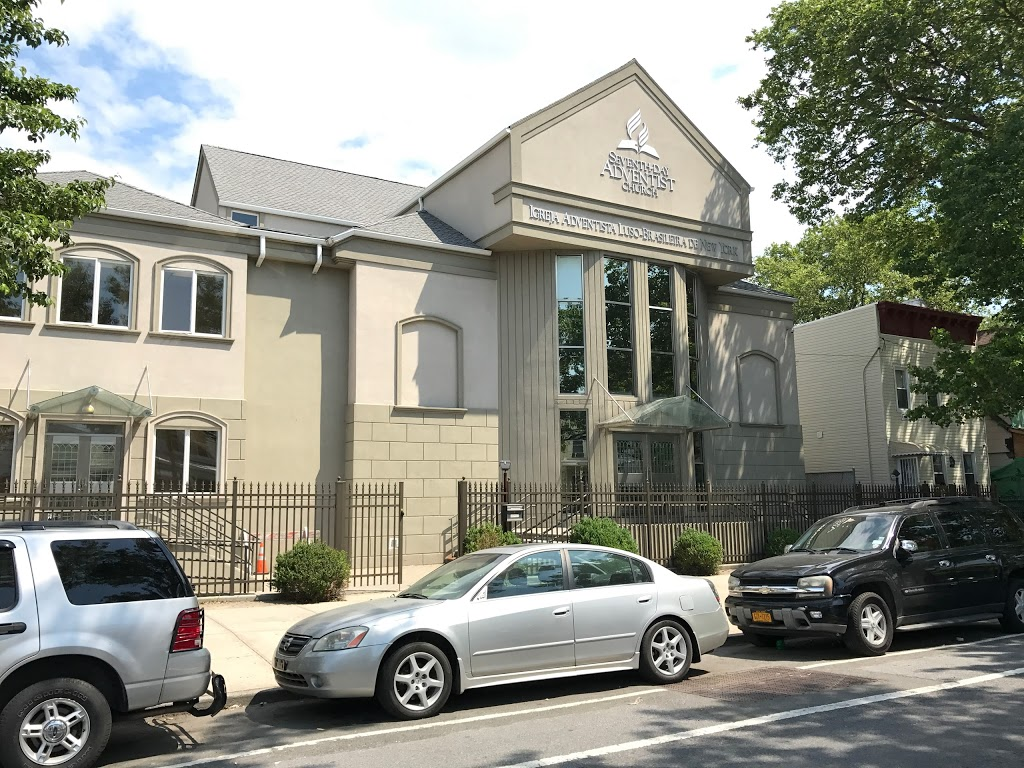 New York Luso Brazilian SDA Church - church    Photo 1 of 10   Address: 96-11 34th Ave, Corona, NY 11368, USA   Phone: (718) 651-4270