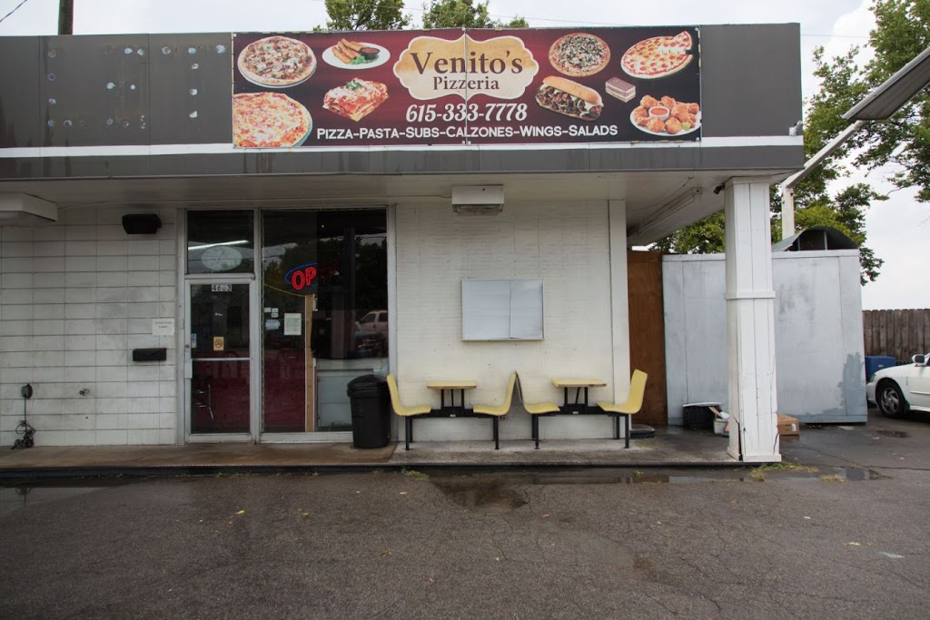 Venitos Pizza - meal delivery    Photo 1 of 10   Address: 4663 Trousdale Dr, Nashville, TN 37204, USA   Phone: (615) 333-7778