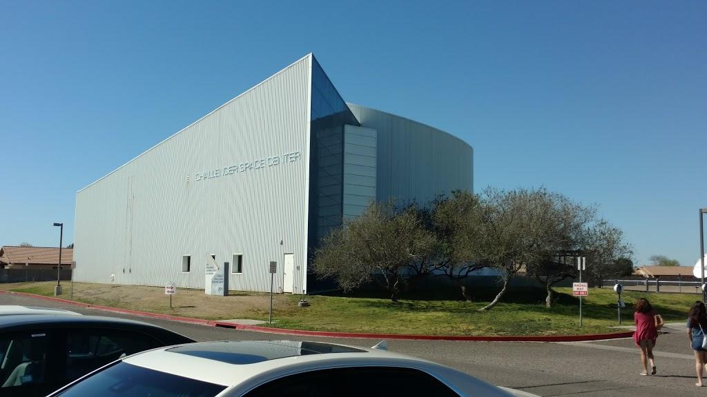 Arizona Challenger Space Center - museum    Photo 1 of 10   Address: 17835 N 44th St, Phoenix, AZ 85032, USA   Phone: (623) 322-2001