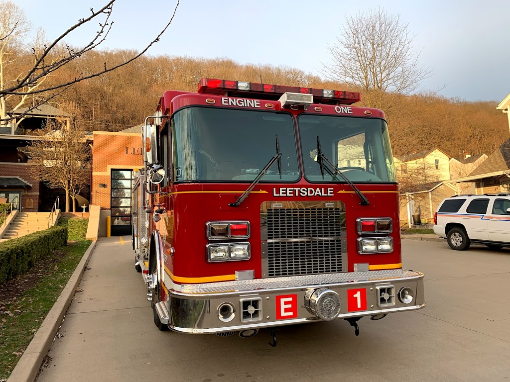 Leetsdale Fire Department - fire station  | Photo 2 of 2 | Address: 136 Broad St, Leetsdale, PA 15056, USA | Phone: (724) 266-4820