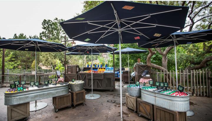 Critter Country Fruit Cart - amusement park  | Photo 1 of 2 | Address: Critter Country, 1313 Disneyland Dr, Anaheim, CA 92802, USA | Phone: (714) 781-3463
