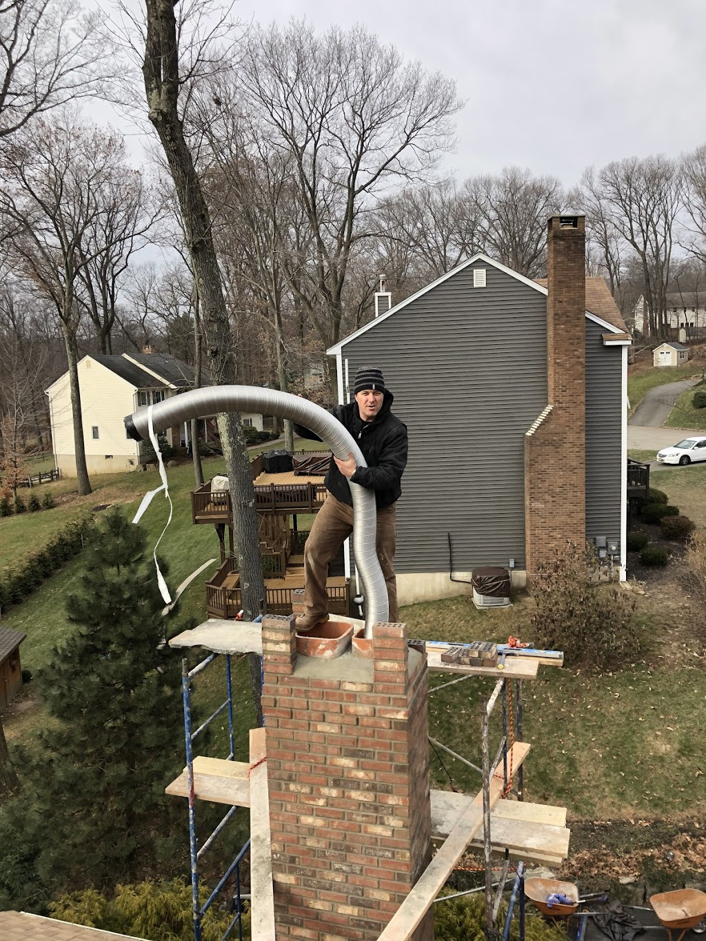American Sons Professionals Roofing & Chimney - roofing contractor  | Photo 6 of 10 | Address: 425 Riverside Dr, Wayne, NJ 07470, USA | Phone: (201) 396-5509