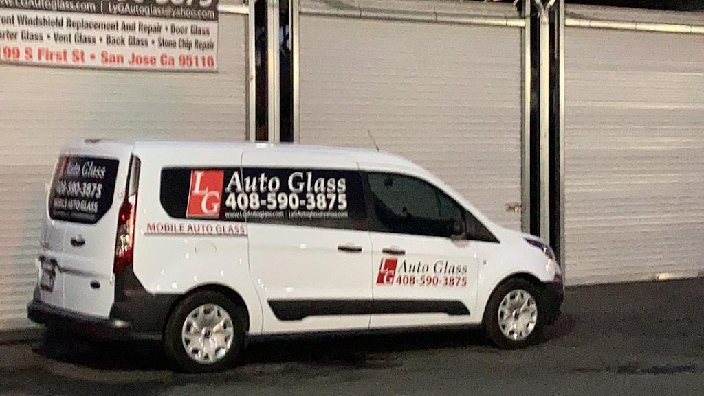 LG Auto Glass - car repair    Photo 1 of 10   Address: 1199 S 1st St, San Jose, CA 95110, USA   Phone: (408) 590-3875