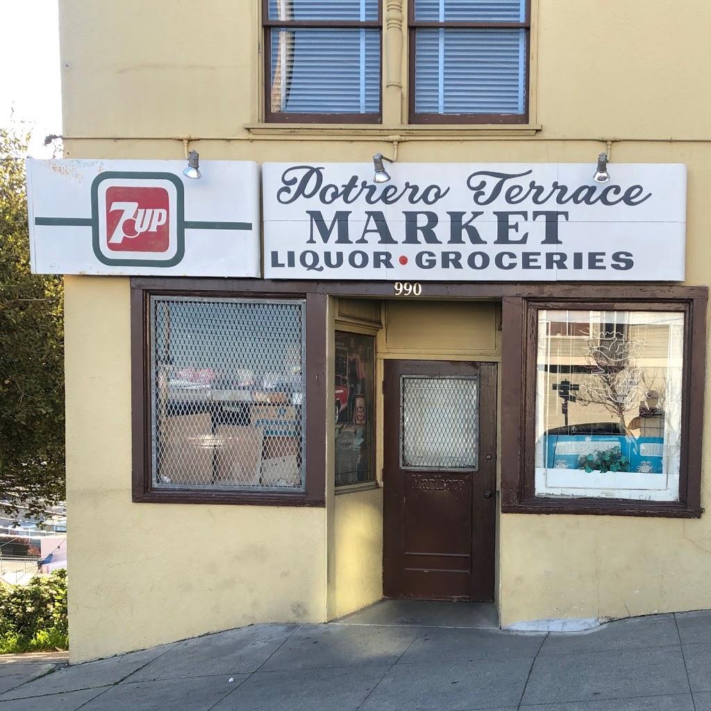 Potrero Terrace Market - store  | Photo 1 of 2 | Address: 990 Wisconsin St, San Francisco, CA 94107, USA | Phone: (415) 282-0906
