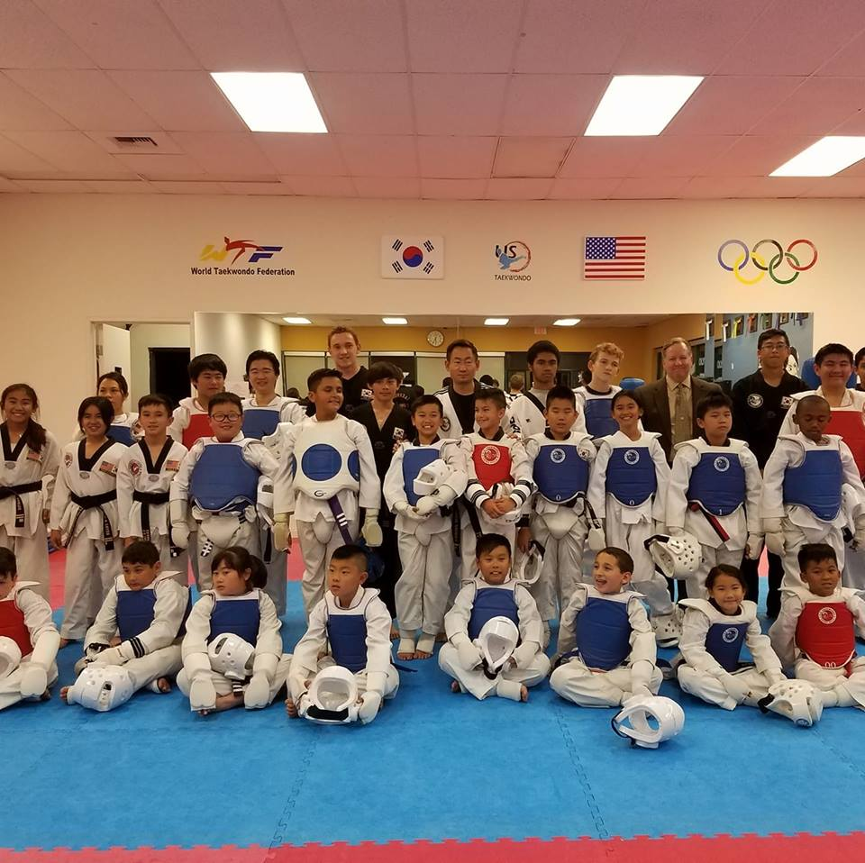 US Taekwondo Center - health    Photo 6 of 10   Address: 15938 Los Serranos Country Club Dr A, Chino Hills, CA 91709, USA   Phone: (909) 597-4000