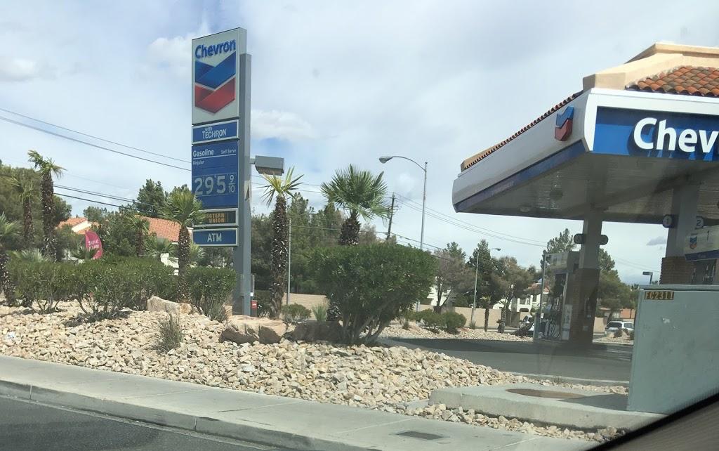 Chevron - gas station  | Photo 1 of 2 | Address: 6885 W Tropicana Ave, Las Vegas, NV 89103, USA | Phone: (702) 247-7779