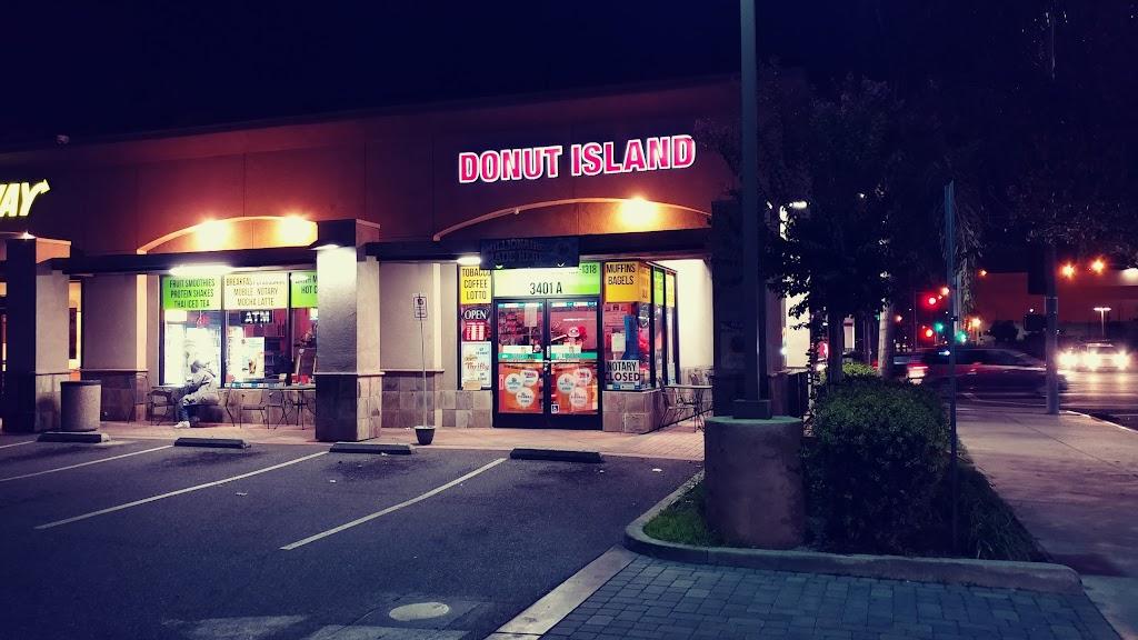 Donut Island - bakery  | Photo 1 of 10 | Address: 4900, 3401 Cherry Ave A, Long Beach, CA 90807, USA | Phone: (562) 427-1318