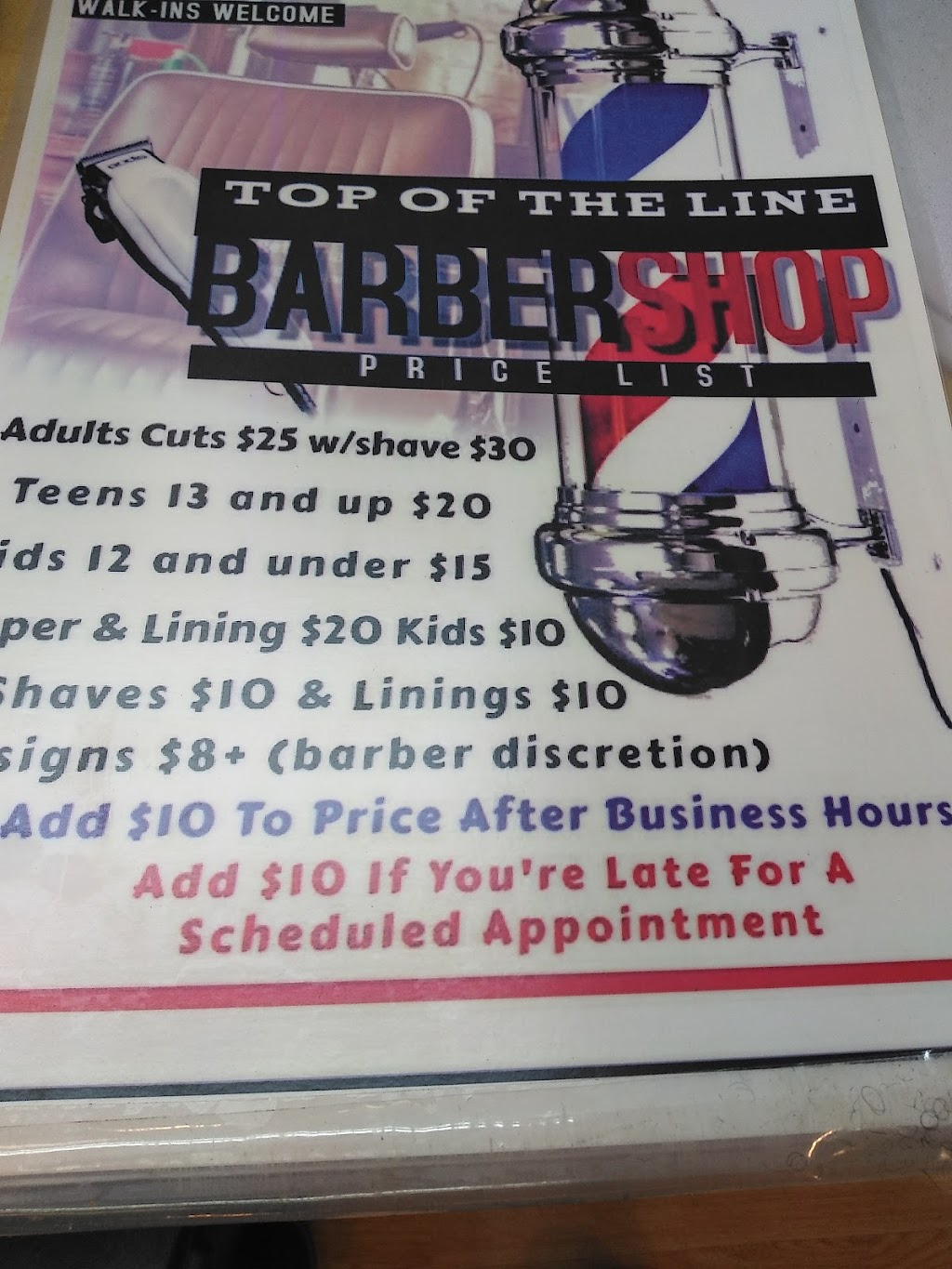 Top of the Line Barber Shop - hair care  | Photo 2 of 7 | Address: 4390 N 27th St, Milwaukee, WI 53216, USA | Phone: (414) 449-0351
