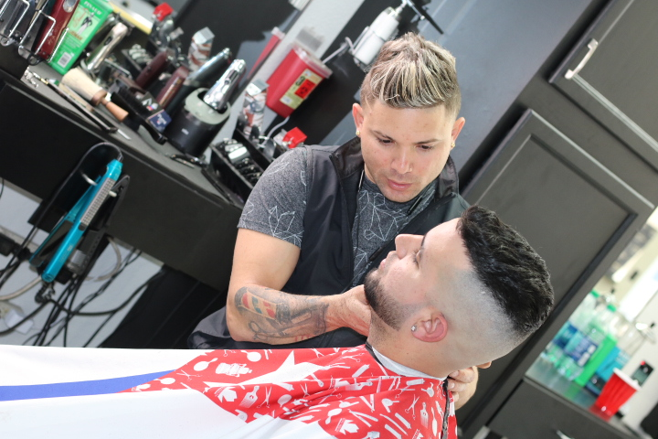 Santoyos Barbershop - hair care  | Photo 8 of 10 | Address: 7450 W Cheyenne Ave #100, Las Vegas, NV 89129, USA | Phone: (702) 476-9103