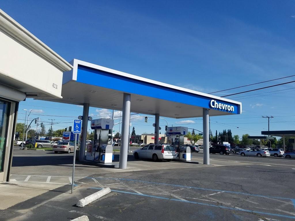 Chevron - gas station    Photo 1 of 5   Address: 4231 Arden Way, Sacramento, CA 95864, USA   Phone: (916) 487-4204