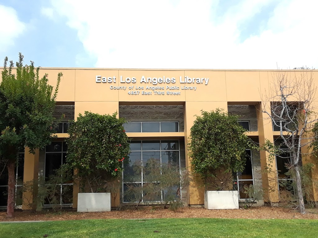 East Los Angeles Library - library  | Photo 3 of 10 | Address: 4837 E 3rd St, Los Angeles, CA 90022, USA | Phone: (323) 264-0155
