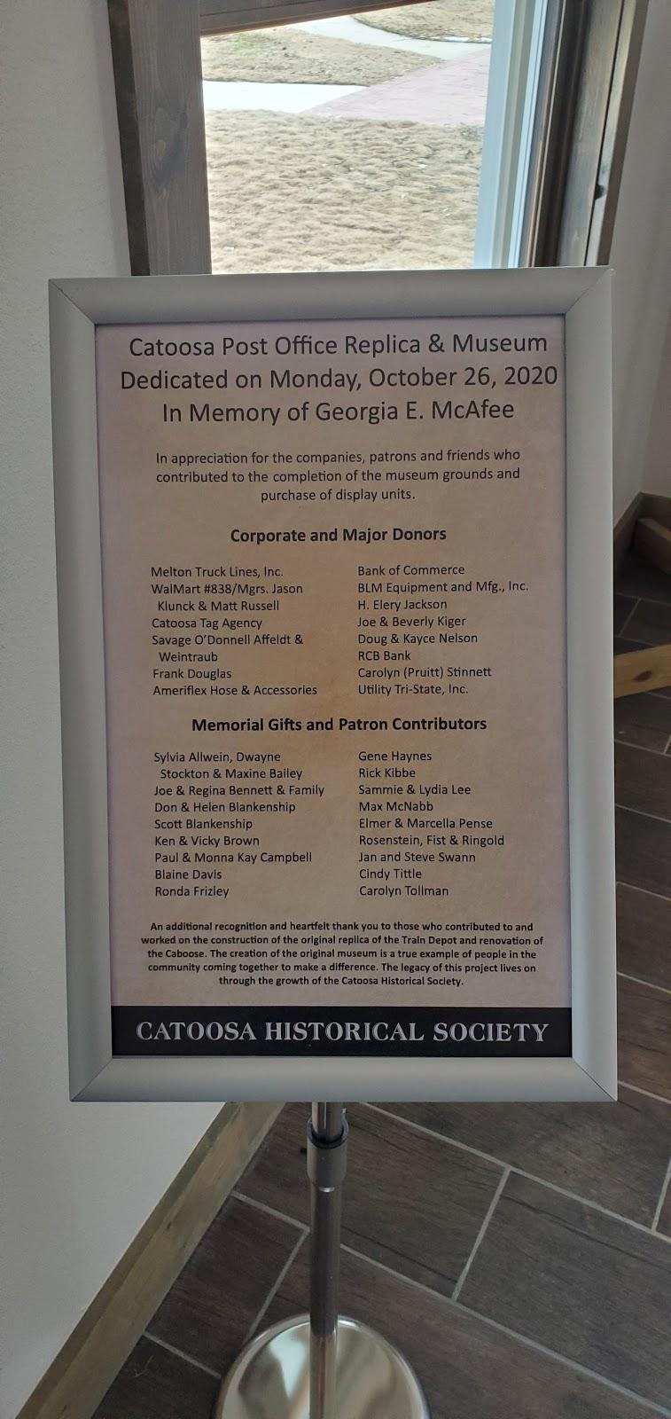 Catoosa Historical Museum - museum  | Photo 3 of 10 | Address: 217 S Cherokee St #201, Catoosa, OK 74015, USA | Phone: (918) 266-3296