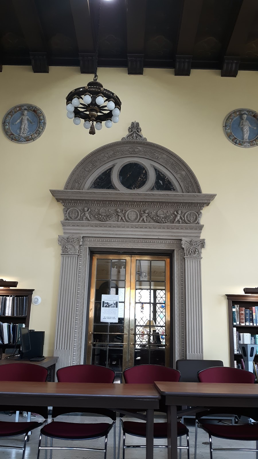 B.F. Jones Memorial Library - library    Photo 3 of 7   Address: 663 Franklin Ave, Aliquippa, PA 15001, USA   Phone: (724) 375-2900