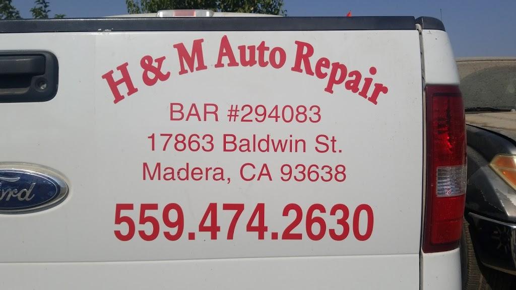 H&M Auto Repair - car repair    Photo 6 of 8   Address: 17863 Baldwin St #A, Madera, CA 93638, USA   Phone: (559) 474-2630