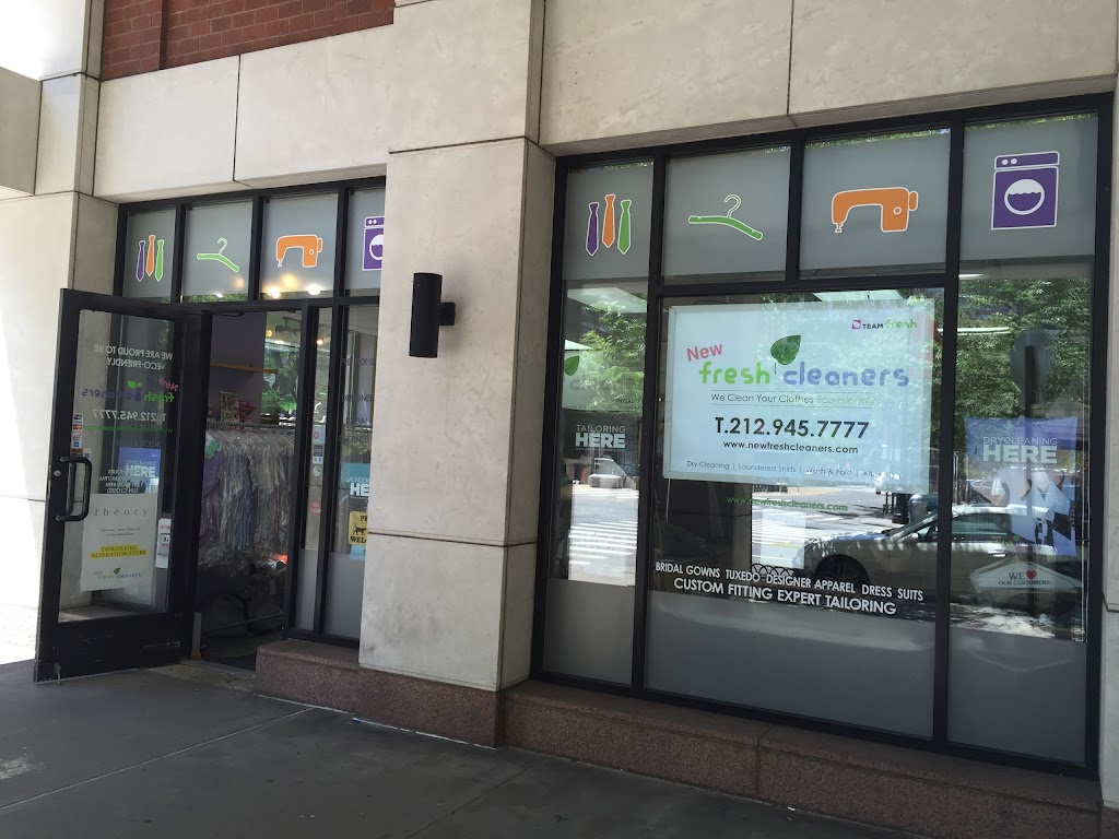 New Fresh Cleaners - laundry  | Photo 1 of 1 | Address: 300 Rector Pl, New York, NY 10280, USA | Phone: (212) 945-7777