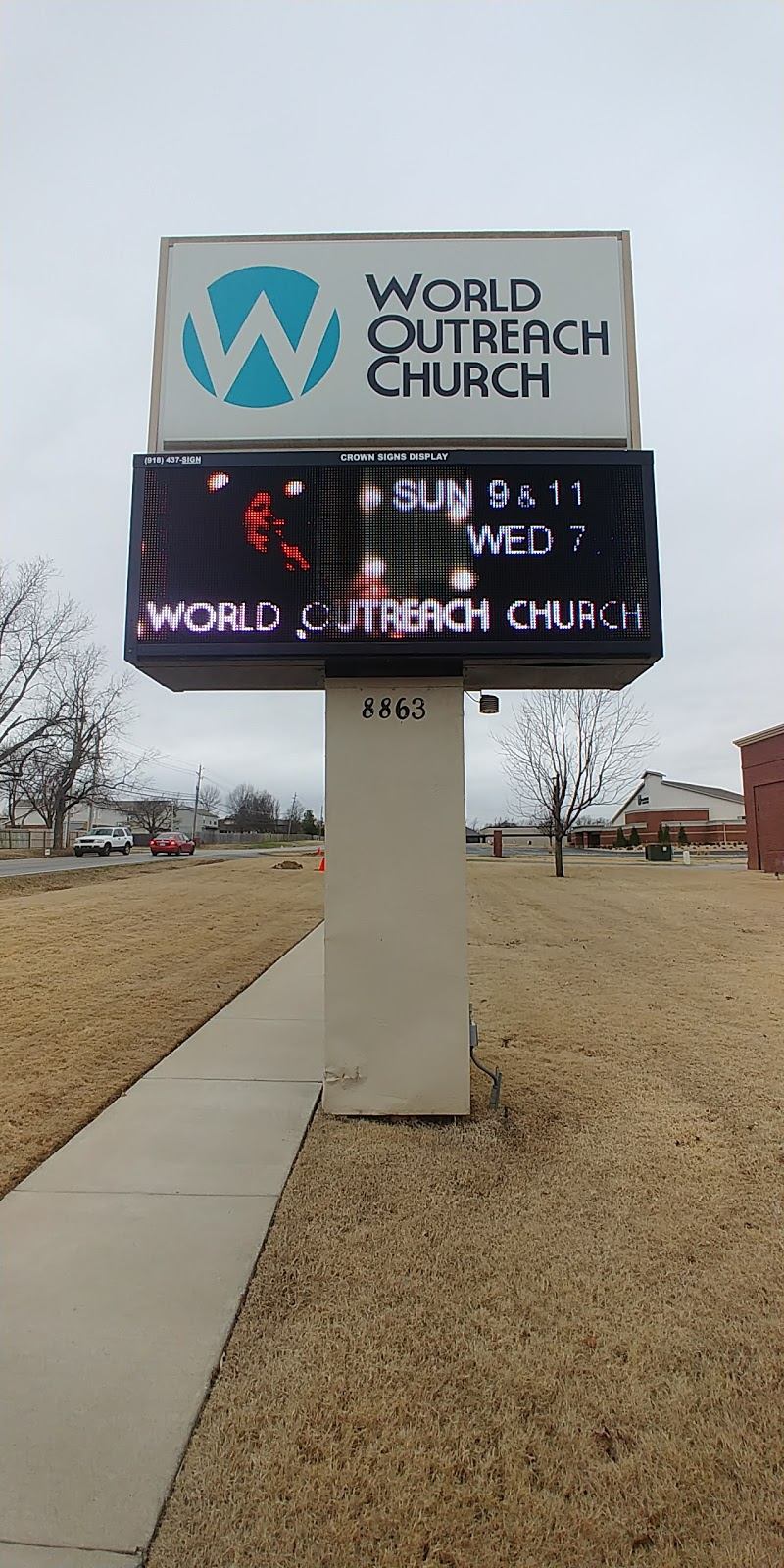 World Outreach Church Of Tulsa - church    Photo 8 of 10   Address: 8863 E 91st St, Tulsa, OK 74133, USA   Phone: (918) 461-9628