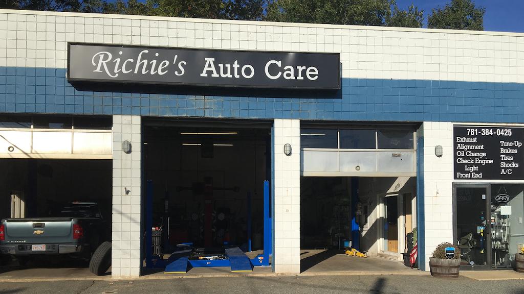Richies Auto Care - car repair  | Photo 1 of 7 | Address: 831 Washington St, Hanover, MA 02339, USA | Phone: (781) 384-0425