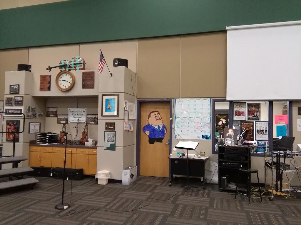 Edmond Santa Fe High School - school    Photo 7 of 10   Address: 1901 W 15th St, Edmond, OK 73013, USA   Phone: (405) 340-2230
