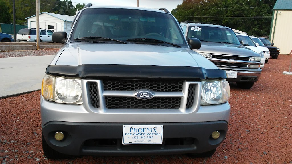 Phoenix Preowned Motors - car dealer    Photo 5 of 9   Address: 1496 Old U.S. Hwy 52, Lexington, NC 27295, USA   Phone: (336) 243-7892