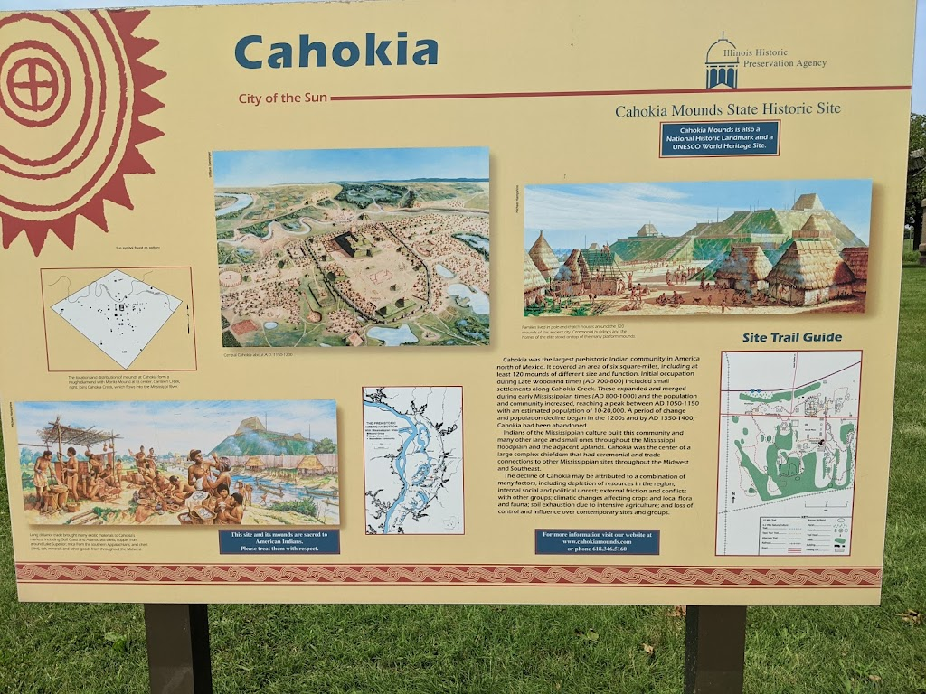Cahokia Mounds Museum Society - museum    Photo 6 of 10   Address: 30 Ramey St, Collinsville, IL 62234, USA   Phone: (618) 344-9221