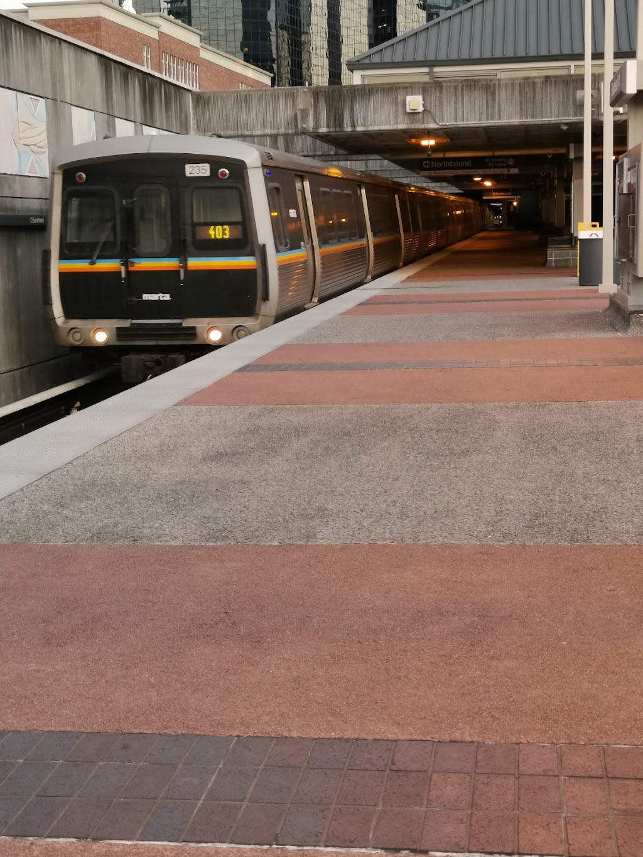 Buckhead Station - subway station    Photo 3 of 10   Address: 3360 Peachtree Rd NE, Atlanta, GA 30326, USA   Phone: (404) 848-4711