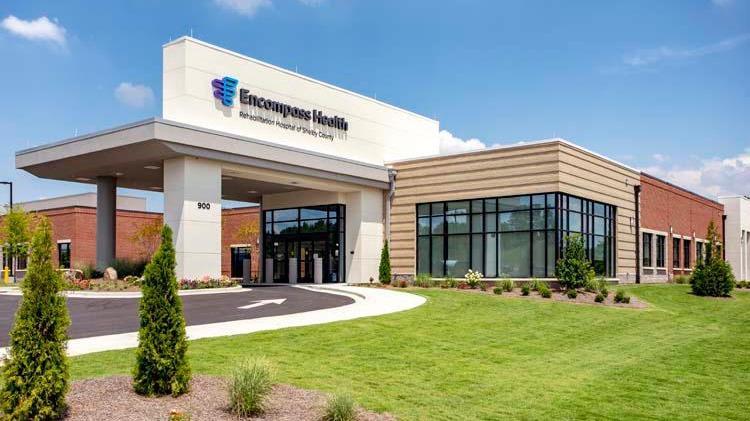Encompass Health Rehabilitation Hospital of Shelby County - hospital    Photo 1 of 5   Address: Lane, 900 Oak Mountain Trail, Pelham, AL 35124, USA   Phone: (205) 216-7600