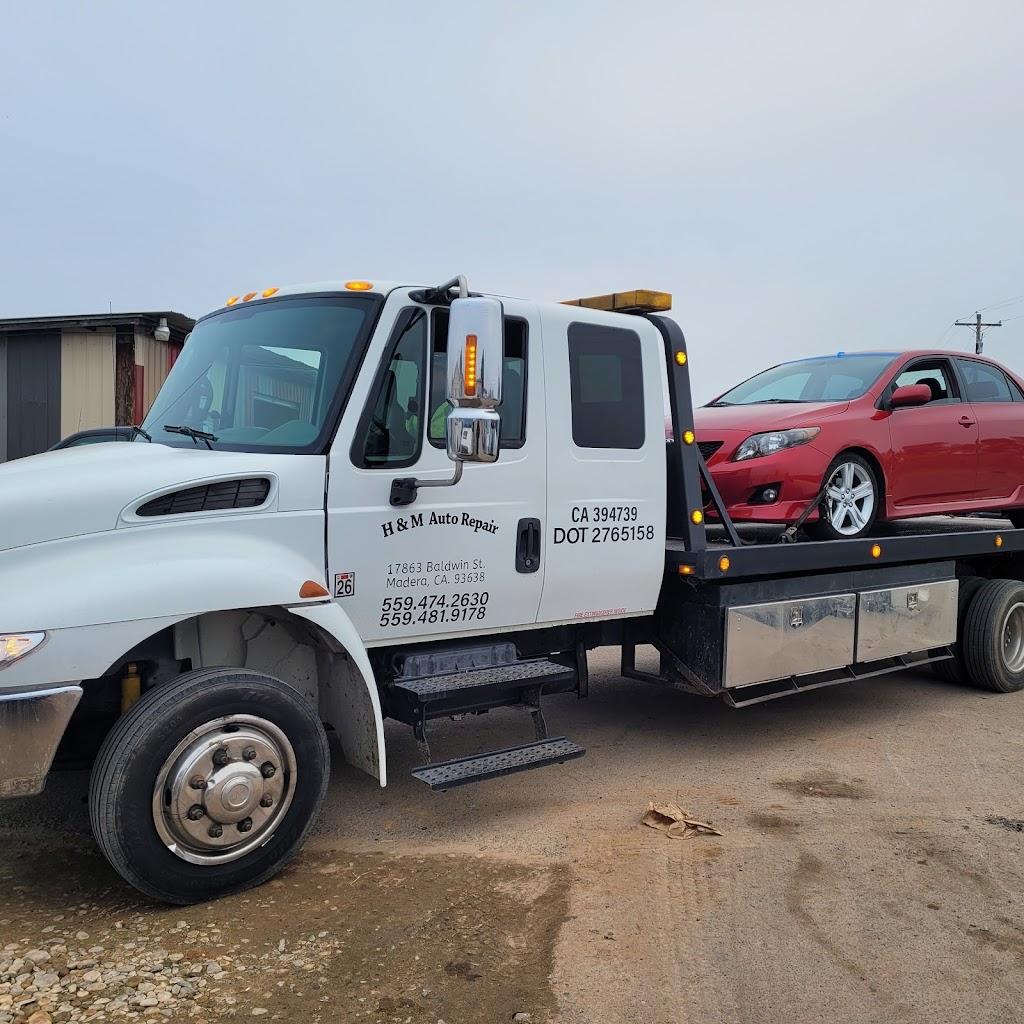 H&M Auto Repair - car repair    Photo 2 of 8   Address: 17863 Baldwin St #A, Madera, CA 93638, USA   Phone: (559) 474-2630
