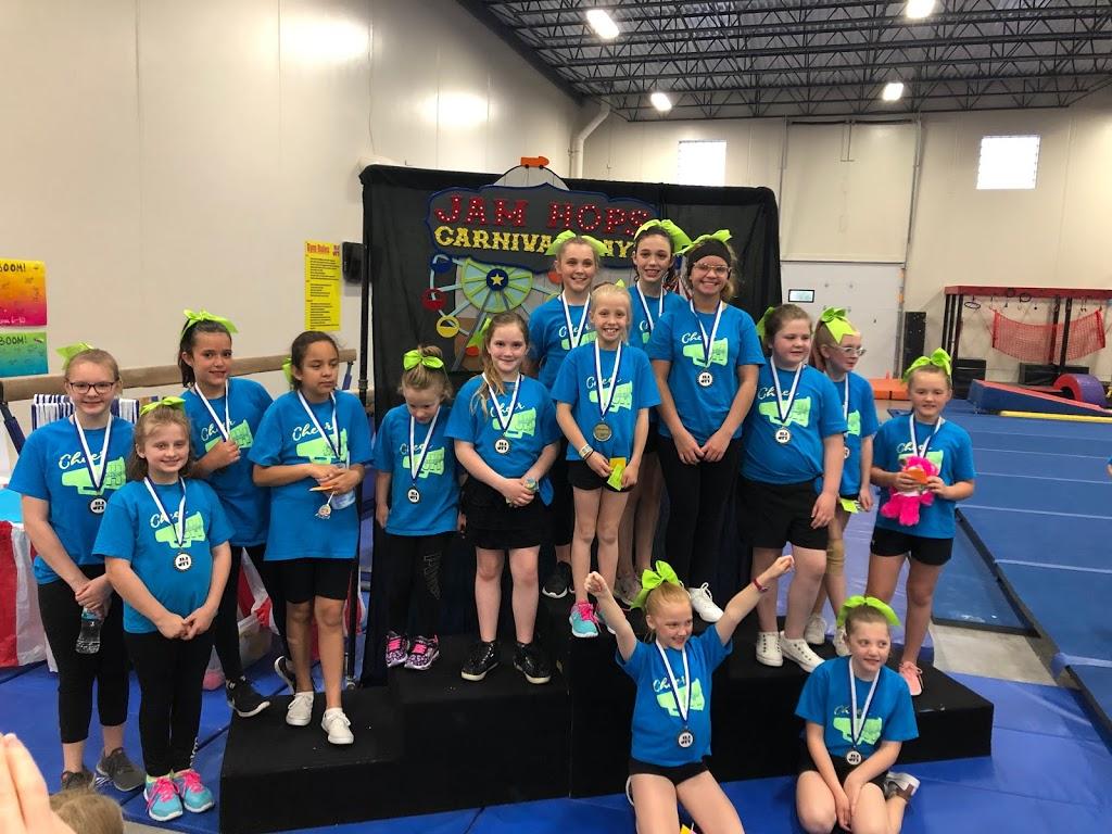 Jam Hops Gymnastics, Dance, Cheer, Ninja, Academic Preschool and Theater - school  | Photo 1 of 10 | Address: 1460 133rd Ln NE, Ham Lake, MN 55304, USA | Phone: (763) 413-0647