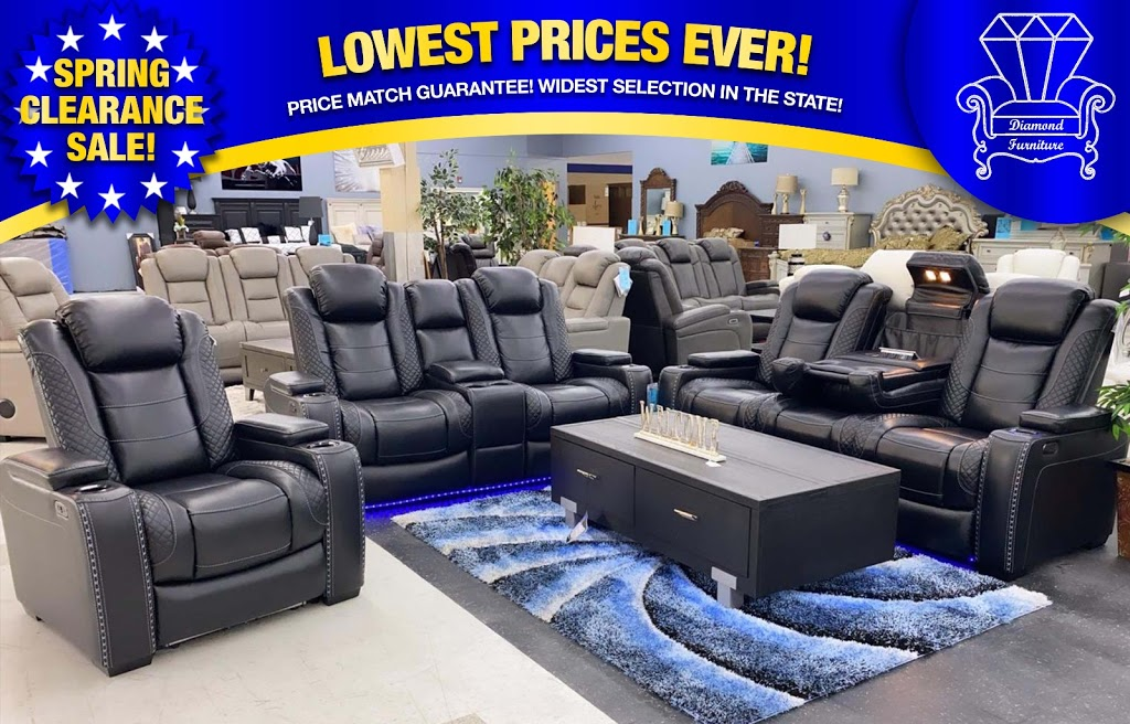 Diamond Furniture - furniture store    Photo 4 of 10   Address: 9096 Parkway E, Birmingham, AL 35206, USA   Phone: (205) 703-8411