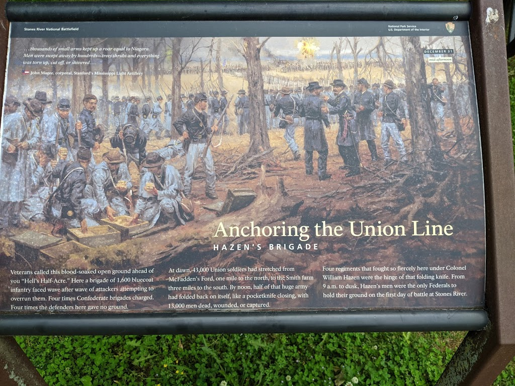 Stones River National Battlefield - museum  | Photo 8 of 10 | Address: 3501 Old Nashville Hwy, Murfreesboro, TN 37129, USA | Phone: (615) 893-9501