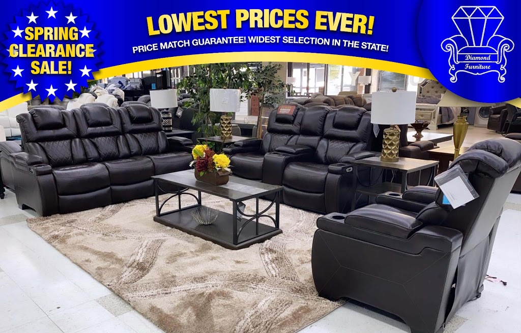 Diamond Furniture - furniture store    Photo 7 of 10   Address: 9096 Parkway E, Birmingham, AL 35206, USA   Phone: (205) 703-8411