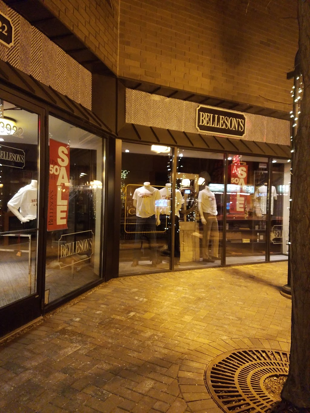 Bellesons for Men - clothing store    Photo 1 of 3   Address: 3922 W 50th St, Minneapolis, MN 55424, USA   Phone: (952) 927-4694