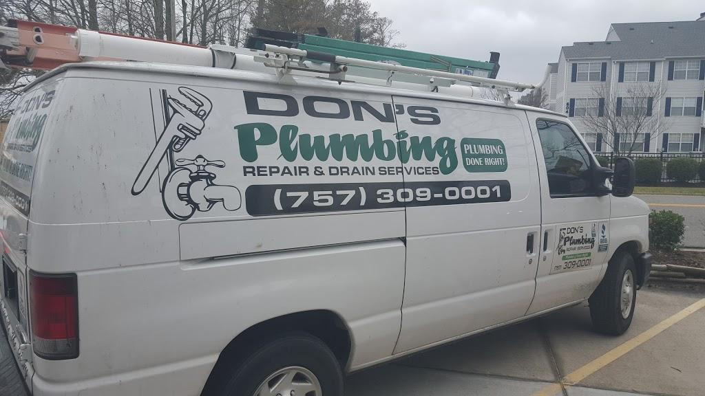 Dons Plumbing Repair And Drain Cleaning - plumber    Photo 1 of 10   Address: 1872 Saville Garden Ct, Virginia Beach, VA 23453, USA   Phone: (757) 309-0001