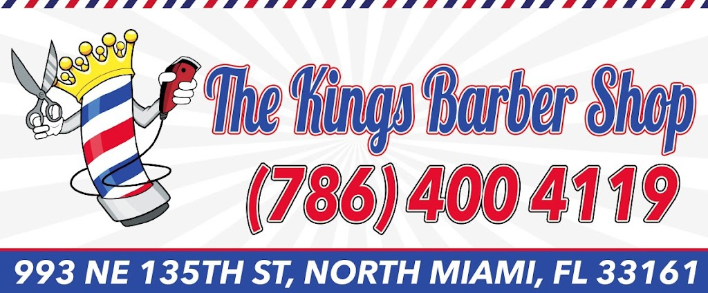 The Kings Barbershop/Salon - hair care    Photo 7 of 10   Address: 993 NE 135th St, North Miami, FL 33161, USA   Phone: (786) 400-4119