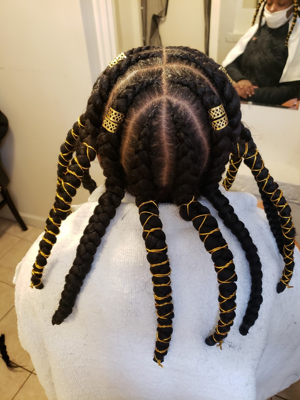 Flakky African Hair Braiding - hair care  | Photo 6 of 10 | Address: 253 Broad St, Staten Island, NY 10304, USA | Phone: (347) 371-3645