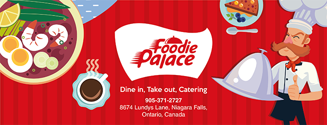 Foodie Palace - restaurant    Photo 3 of 10   Address: 8674 Lundys Ln, Niagara Falls, ON L2H 1H4, Canada   Phone: (905) 371-2727