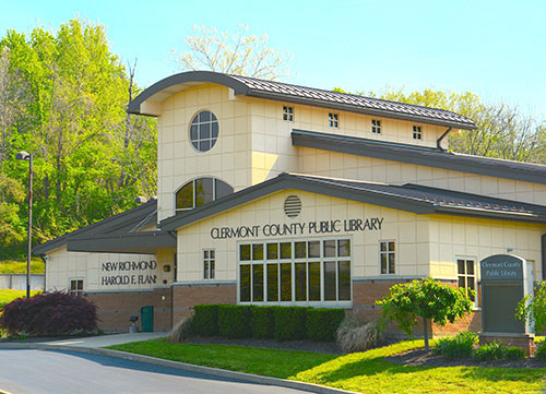 Clermont County Public Library- New Richmond Branch - library  | Photo 1 of 1 | Address: 103 River Valley Blvd, New Richmond, OH 45157, USA | Phone: (513) 553-0570