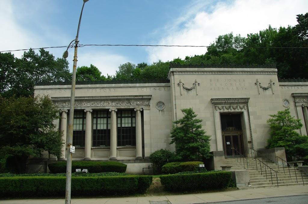 B.F. Jones Memorial Library - library    Photo 7 of 7   Address: 663 Franklin Ave, Aliquippa, PA 15001, USA   Phone: (724) 375-2900