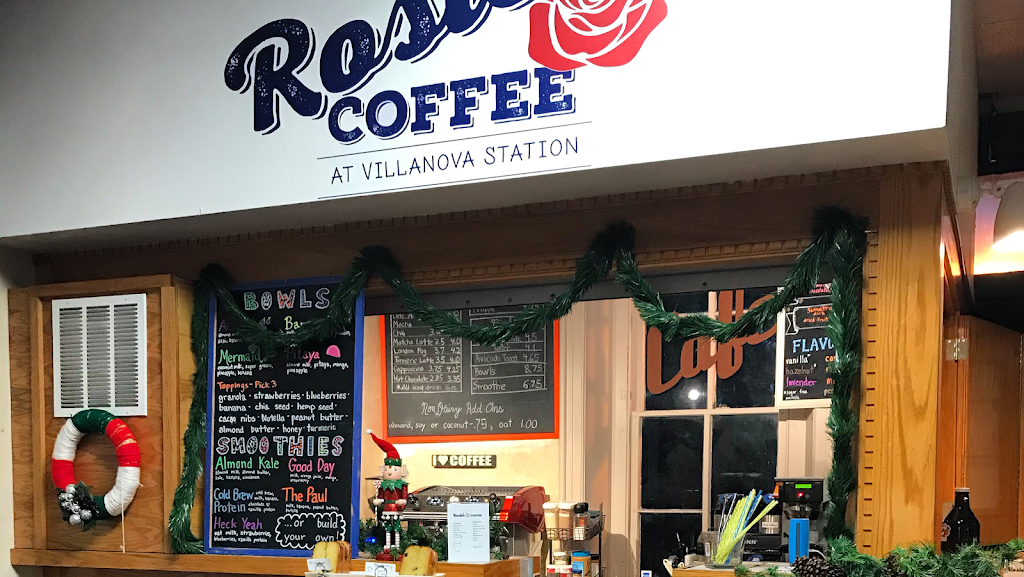 Rosies Coffee at Villanova Station - cafe  | Photo 9 of 10 | Address: Train Station, 308 N Spring Mill Rd, Villanova, PA 19085, USA | Phone: (267) 253-1249