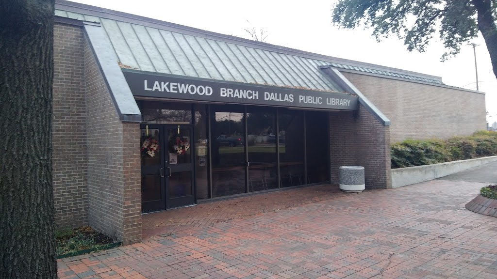 Lakewood Branch Library - library    Photo 2 of 10   Address: 6121 Worth St, Dallas, TX 75214, USA   Phone: (214) 670-1376