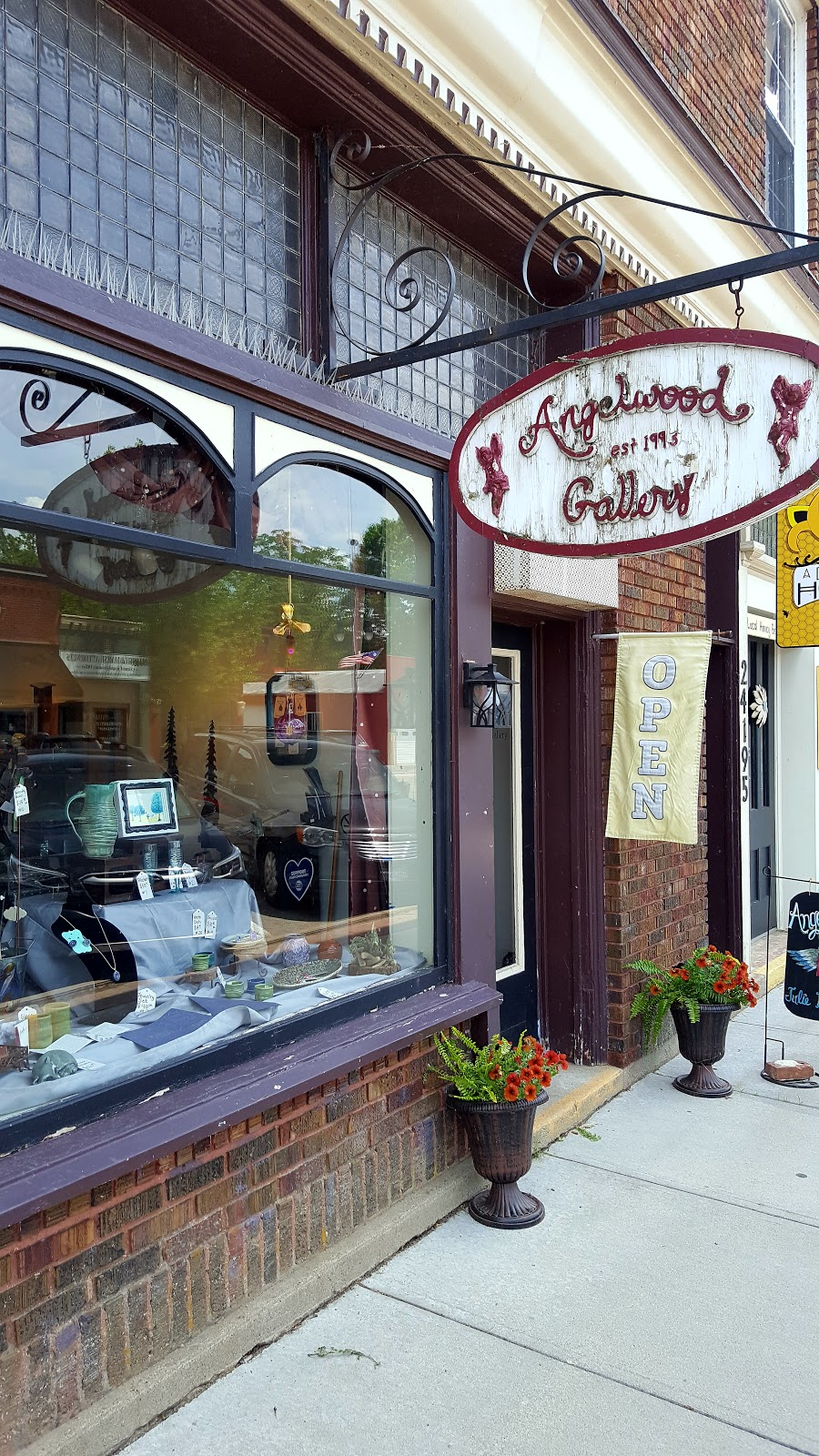 Angelwood Gallery - art gallery    Photo 5 of 7   Address: 24195 Front St, Grand Rapids, OH 43522, USA   Phone: (419) 832-0625