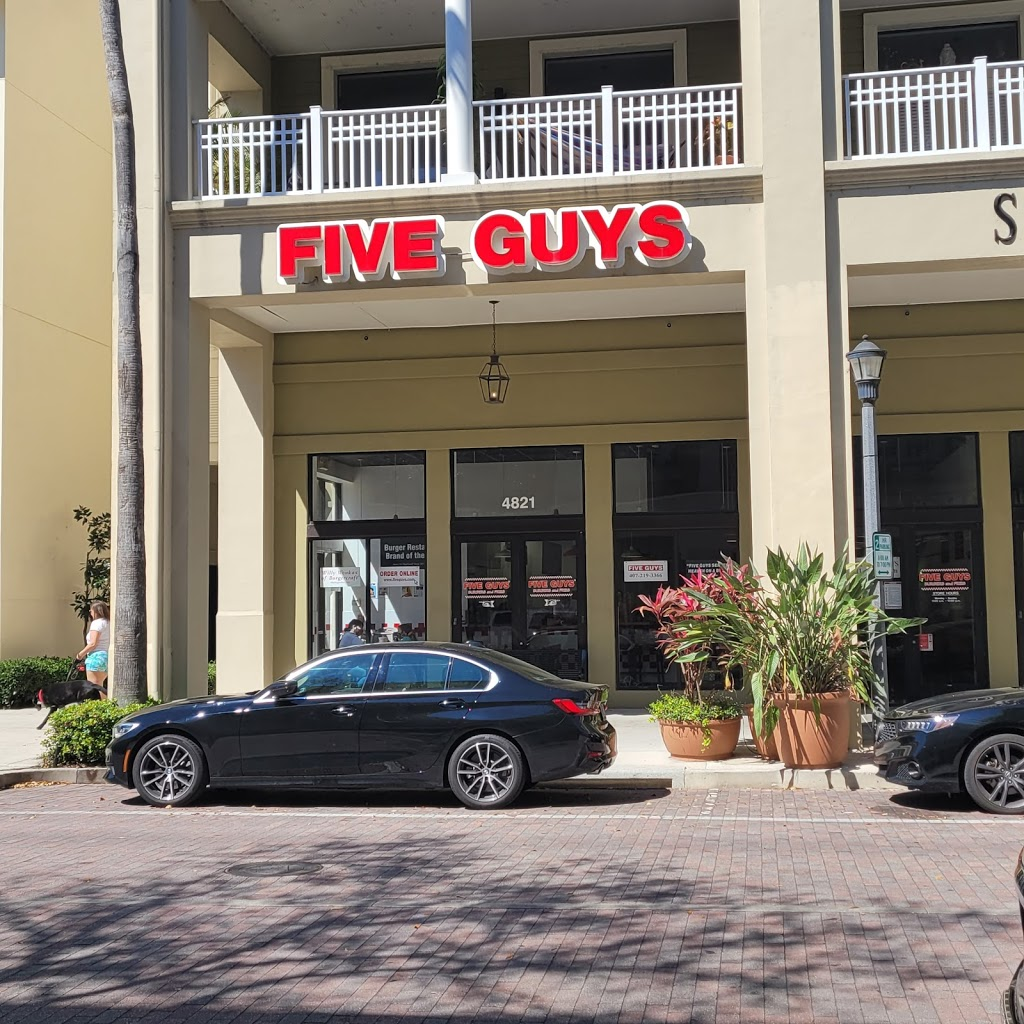 Five Guys - meal takeaway  | Photo 1 of 10 | Address: 4821 New Broad St, Orlando, FL 32814, USA | Phone: (407) 219-3366