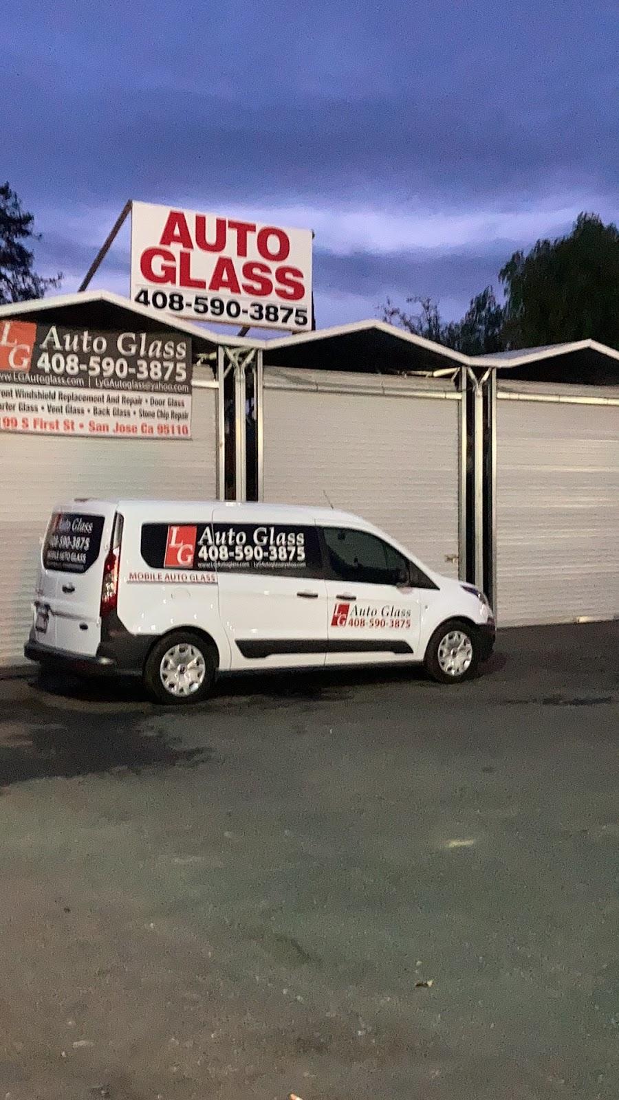 LG Auto Glass - car repair    Photo 3 of 10   Address: 1199 S 1st St, San Jose, CA 95110, USA   Phone: (408) 590-3875