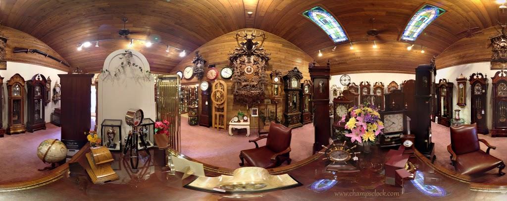 Champs Clock Shop - museum    Photo 6 of 10   Address: 3834 King Dr, Douglasville, GA 30135, USA   Phone: (770) 942-2128