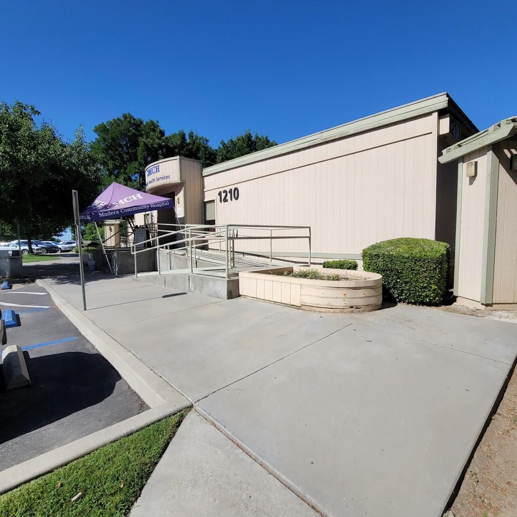 Madera County Hospital - hospital    Photo 2 of 10   Address: 1250 E Almond Ave, Madera, CA 93637, USA   Phone: (559) 675-5555
