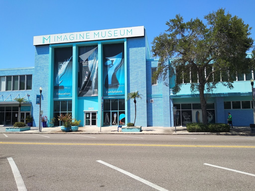 Imagine Museum: Contemporary glass art - art gallery  | Photo 1 of 10 | Address: 1901 Central Ave, St. Petersburg, FL 33713, USA | Phone: (727) 300-1700