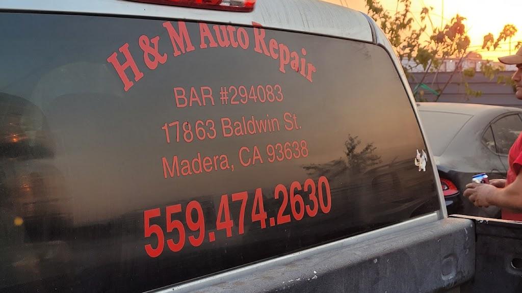 H&M Auto Repair - car repair    Photo 7 of 8   Address: 17863 Baldwin St #A, Madera, CA 93638, USA   Phone: (559) 474-2630