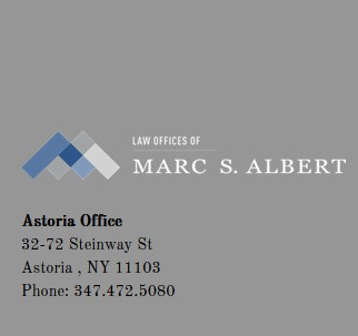 Law Offices of Marc S. Albert Accident Attorney - lawyer  | Photo 1 of 5 | Address: 32-72 Steinway St, Astoria, NY 11103, United States | Phone: (347) 472-5080